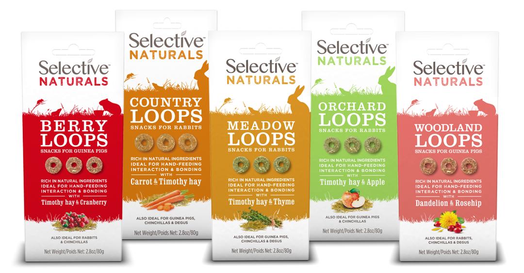 Selective Naturals Loops